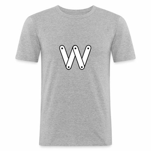 W - T-shirt près du corps Homme