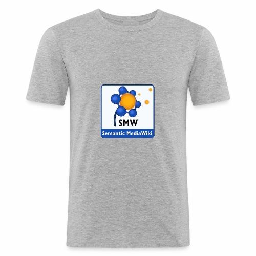 Semantic MediaWiki STREETWEAR - Männer Slim Fit T-Shirt