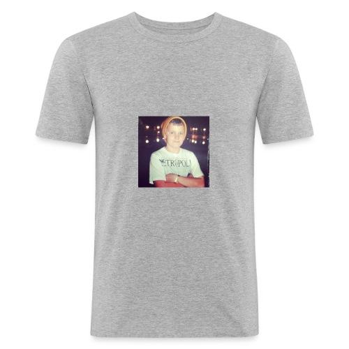 Shmokey X Metropolis range - Men's Slim Fit T-Shirt