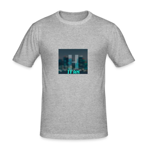HardstyleEurope-T'Shirts - Slim Fit T-skjorte for menn