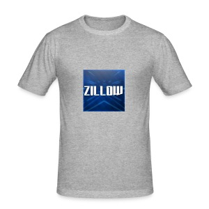 Zillow Logo - Men's Slim Fit T-Shirt