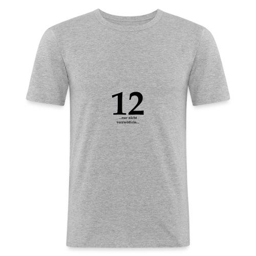 12black - Männer Slim Fit T-Shirt