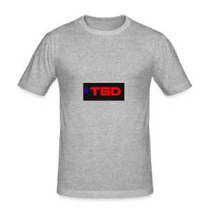 TGD LOGO - Men's Slim Fit T-Shirt