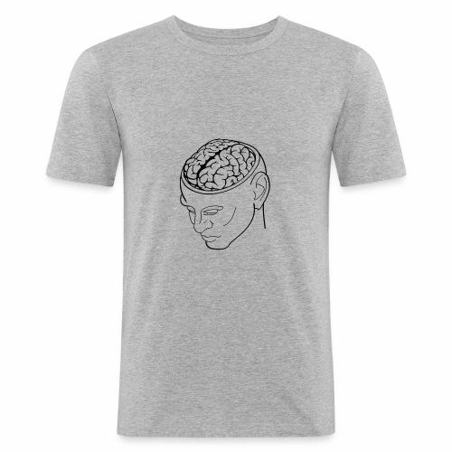 capoccia - Maglietta aderente da uomo