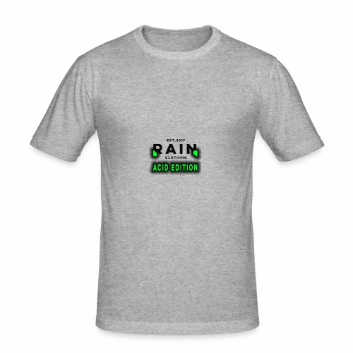 Rain Clothing - ACID EDITION - - Men's Slim Fit T-Shirt