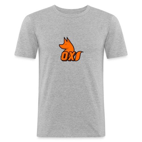 Fox~ Design - Men's Slim Fit T-Shirt