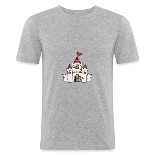 Castle - Slim Fit T-skjorte for menn