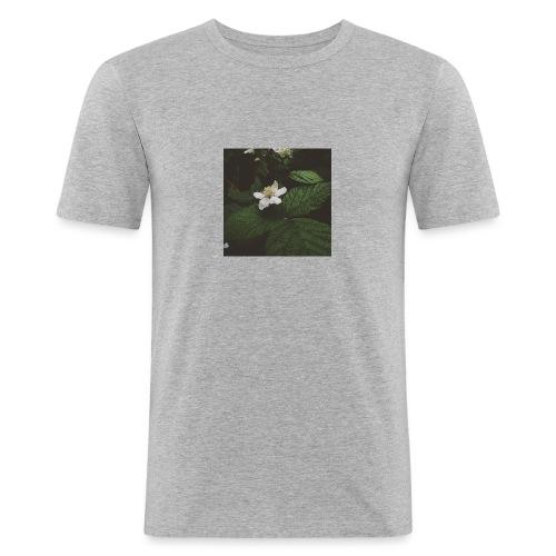 flower - Maglietta aderente da uomo