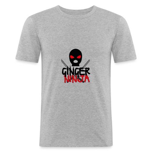 the gingerninja - Männer Slim Fit T-Shirt