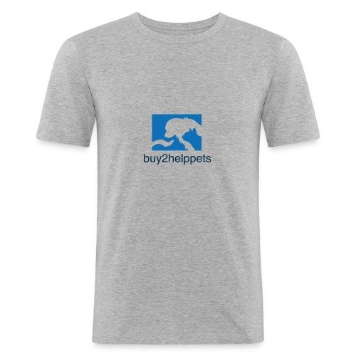 Kaufen und Helfen - Männer Slim Fit T-Shirt