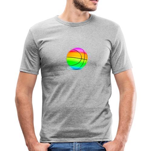 6ix9ine basketball - Men's Slim Fit T-Shirt