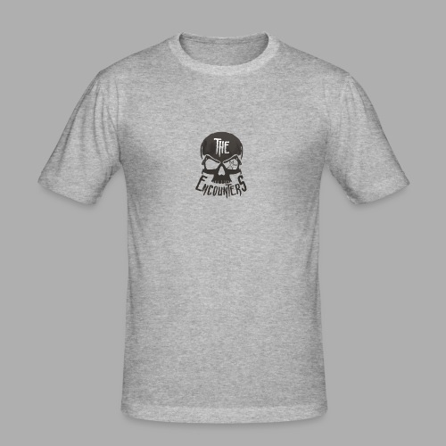 The Encounters Totenkopf - Männer Slim Fit T-Shirt