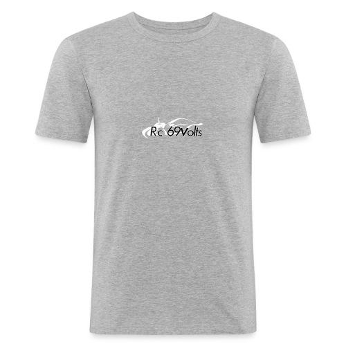 Logotypes rc69volts club de modelisme rc Français. - T-shirt près du corps Homme