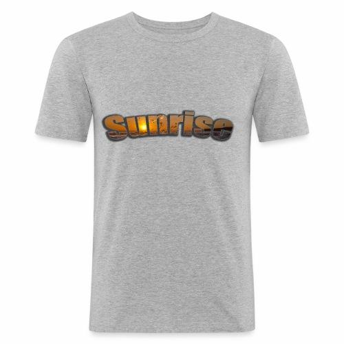 Sunrise - Men's Slim Fit T-Shirt