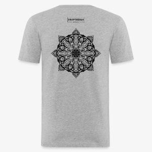 mandala - slim fit T-shirt