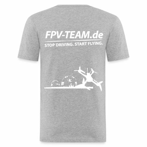 FPV-Team Copter - Männer Slim Fit T-Shirt