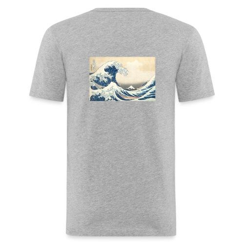 Ocean - Slim Fit T-shirt herr