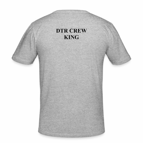 Das King Logo - Männer Slim Fit T-Shirt