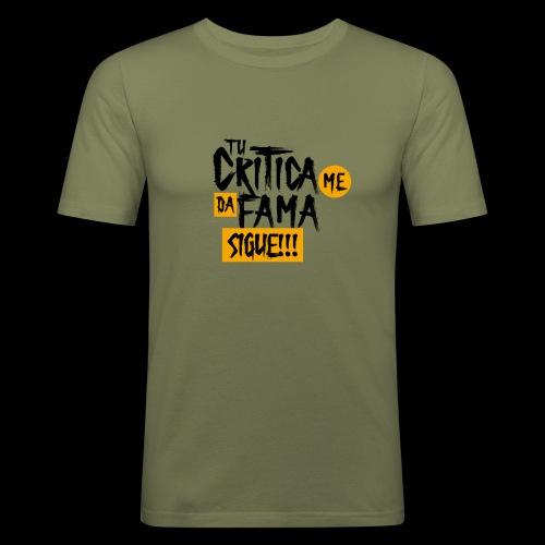 CRITICA - Camiseta ajustada hombre