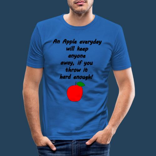Apple Doctor - Männer Slim Fit T-Shirt