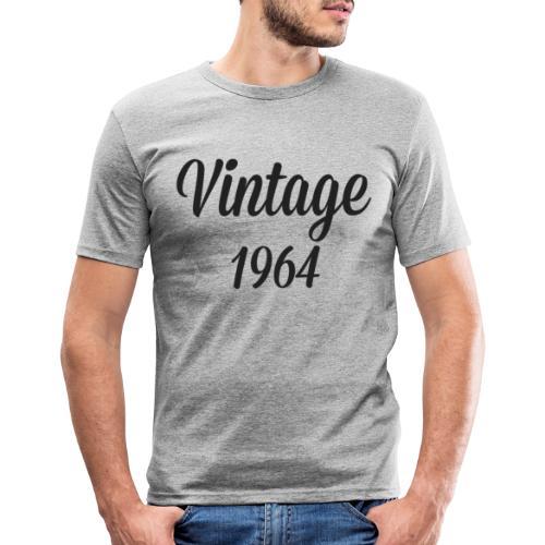 Vintage 1964 - Mannen slim fit T-shirt
