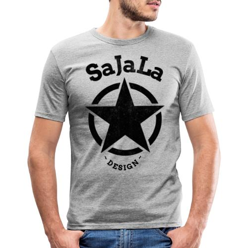 STERN SaJaLaDESIGN - Männer Slim Fit T-Shirt