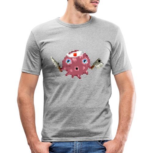 Ollie The Octopus - Mannen slim fit T-shirt