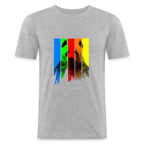 p a n d a - Männer Slim Fit T-Shirt