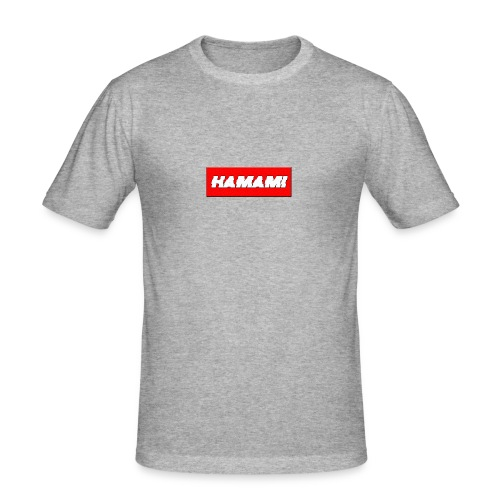 HAMAMI - Maglietta aderente da uomo