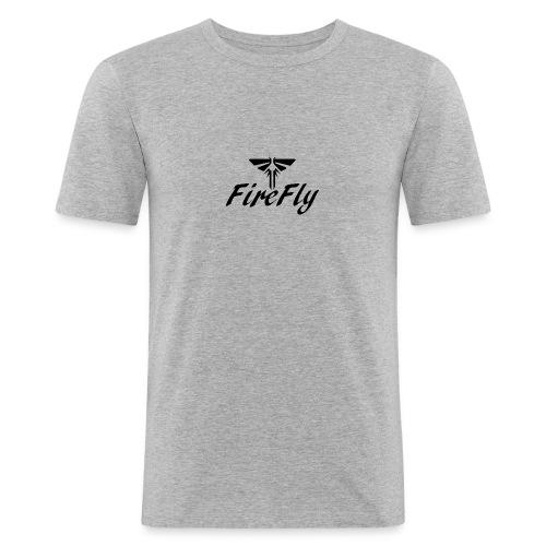FireFly Logo - Men's Slim Fit T-Shirt