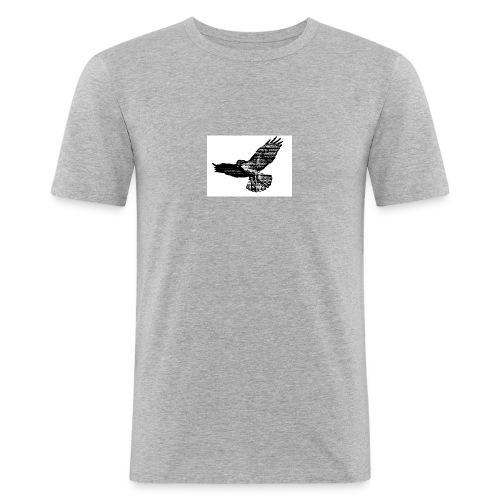 Haukka - Miesten tyköistuva t-paita