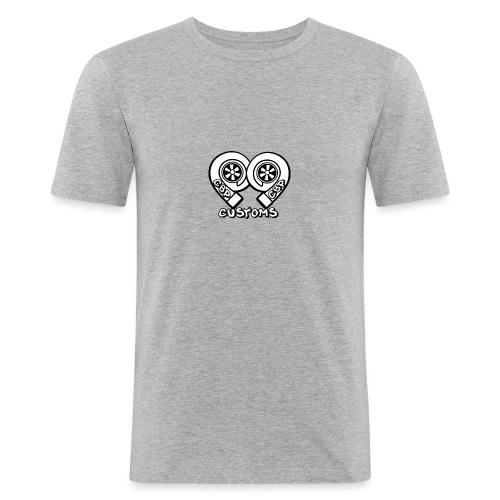 cbp logo - T-shirt près du corps Homme