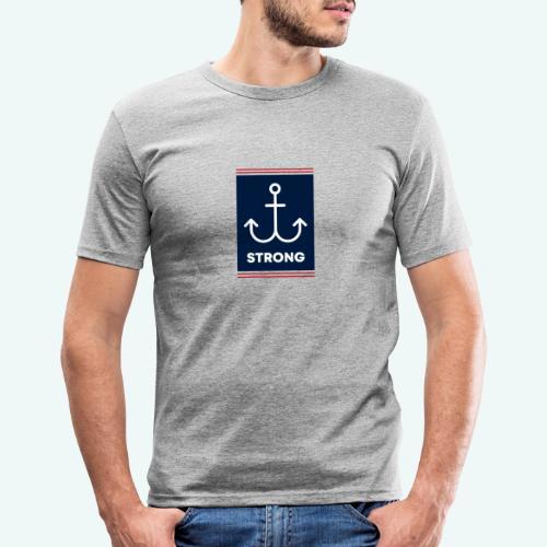 Strong - Männer Slim Fit T-Shirt