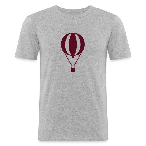 Gasballon prall - Männer Slim Fit T-Shirt