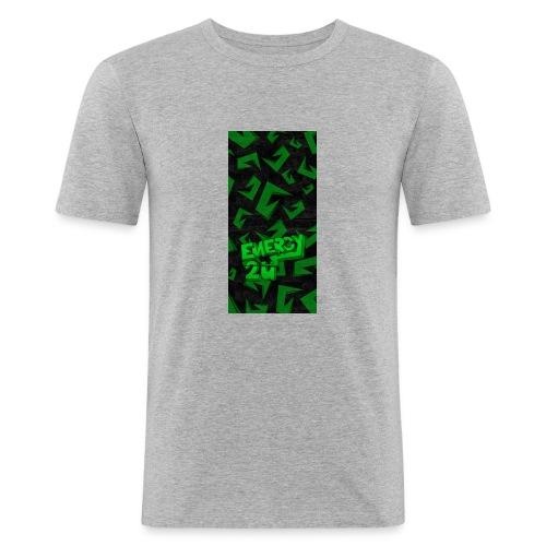 hoesje - Mannen slim fit T-shirt