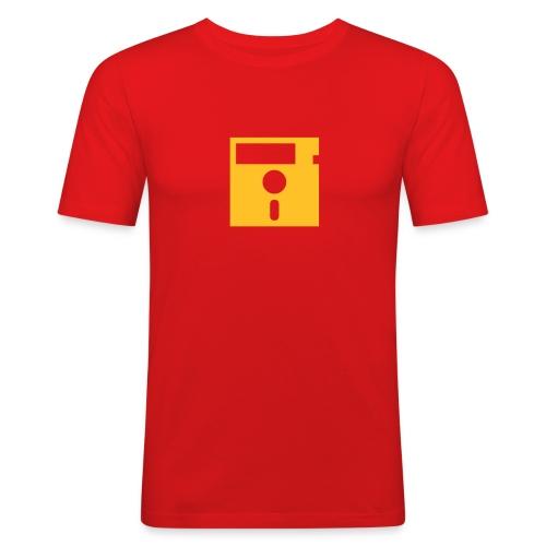 ibisdesigs floppydisk vec - Men's Slim Fit T-Shirt