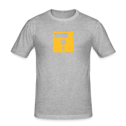 ibisdesigs floppydisk vec - Men's Slim Fit T-Shirt