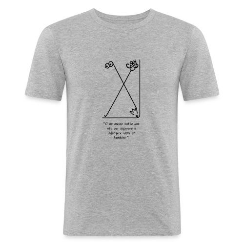 strumenti creativi - Maglietta aderente da uomo