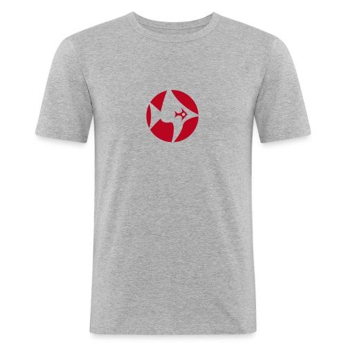 fish1 - Männer Slim Fit T-Shirt
