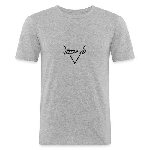 JeeensxD-Teamlogo - Männer Slim Fit T-Shirt