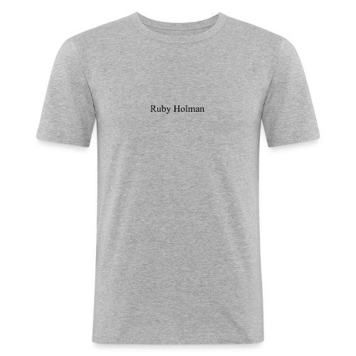 Ruby Holaman - T-shirt près du corps Homme