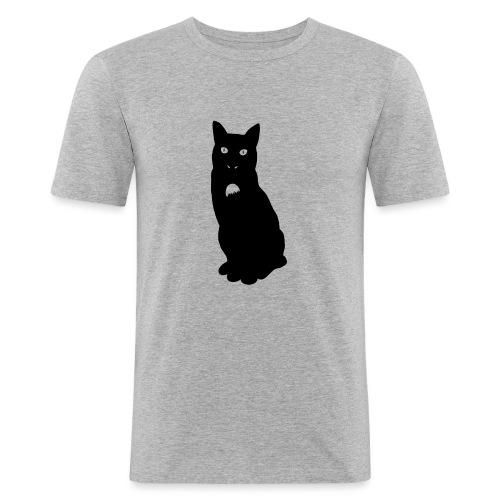 Knor de kat - Mannen slim fit T-shirt