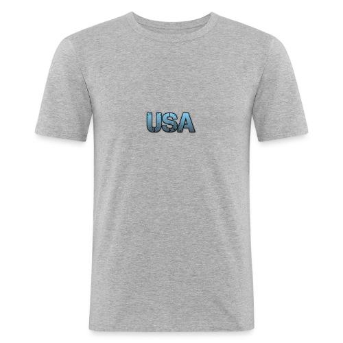usa/estados unidos - Camiseta ajustada hombre