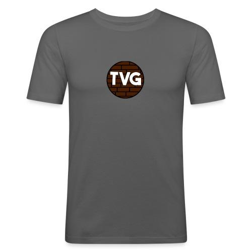 TeVeelGamers - Mannen slim fit T-shirt