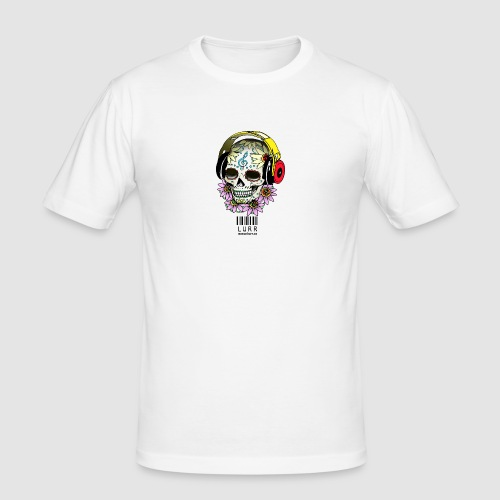 smiling_skull - Men's Slim Fit T-Shirt