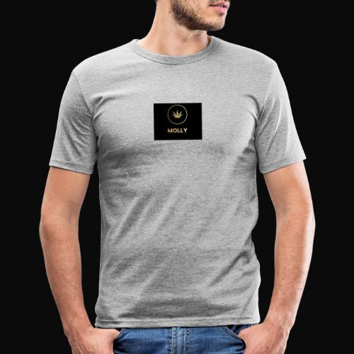 MOLLY - Herre Slim Fit T-Shirt