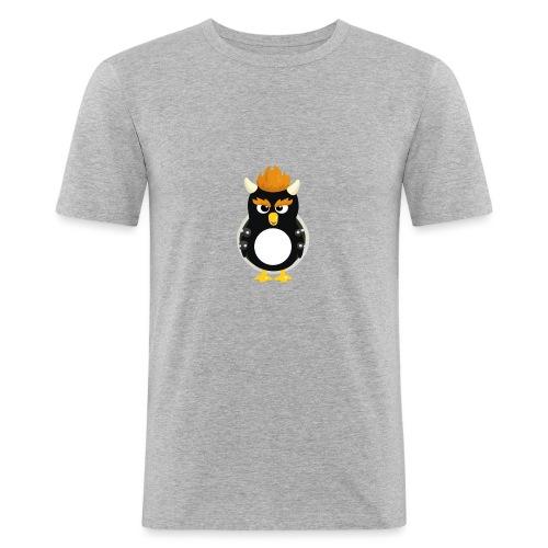 Pingouin Bowser - T-shirt près du corps Homme