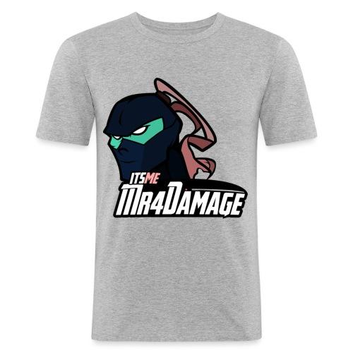ItsMeMr4Damage - Mannen slim fit T-shirt
