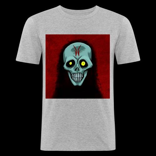 Ghost skull - Men's Slim Fit T-Shirt