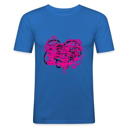 delicious pink - Men's Slim Fit T-Shirt